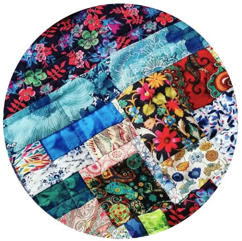 Scrappy Boho Patchwork