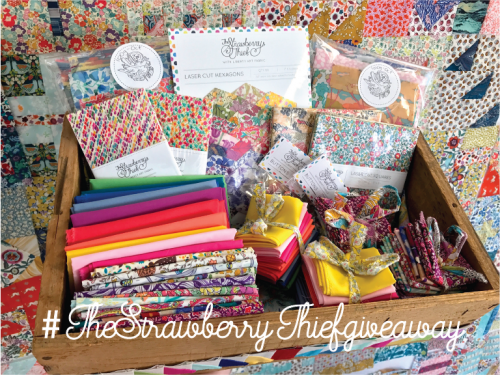 The Strawberry Thief Liberty Giveaway!