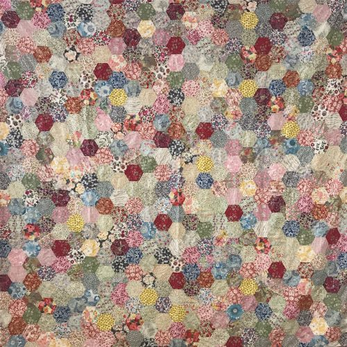 Scrappy Liberty Hexi Quilt Tutorial