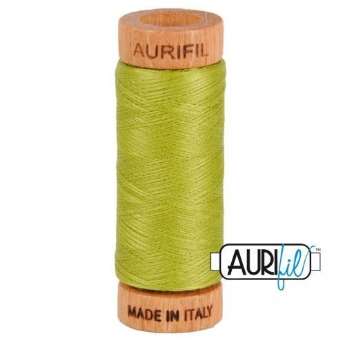 Aurifil Thread 80wt – 1147 Light Leaf Green