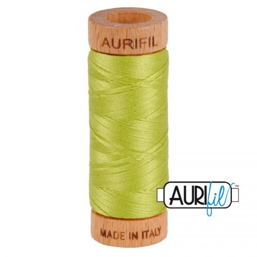 Aurifil Thread 80wt – 1231 Spring Green