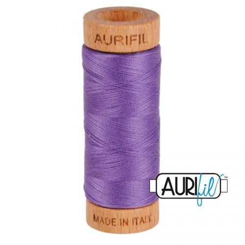 Aurifil Thread 80wt – 1243 Dusty Lavender