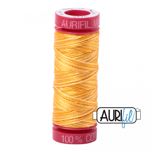 Aurifil Thread 12wt – 3920 Golden Glow