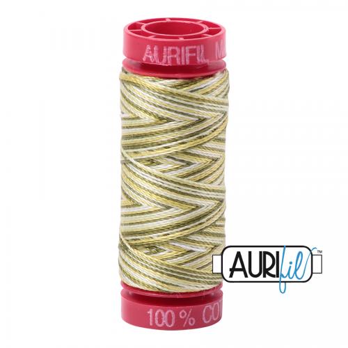 Aurifil Thread 12wt – 4653 Spring Prairie