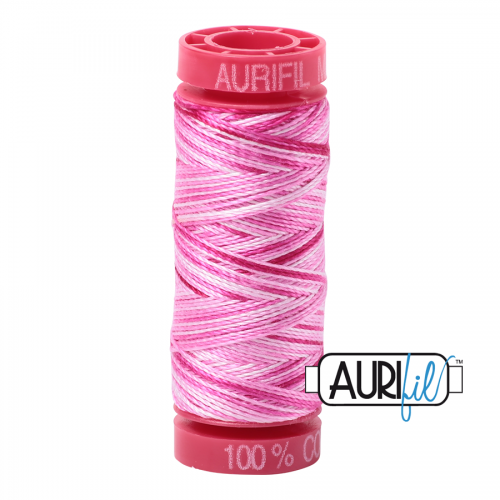 Aurifil Thread 12wt – 4660 Pink Taffy