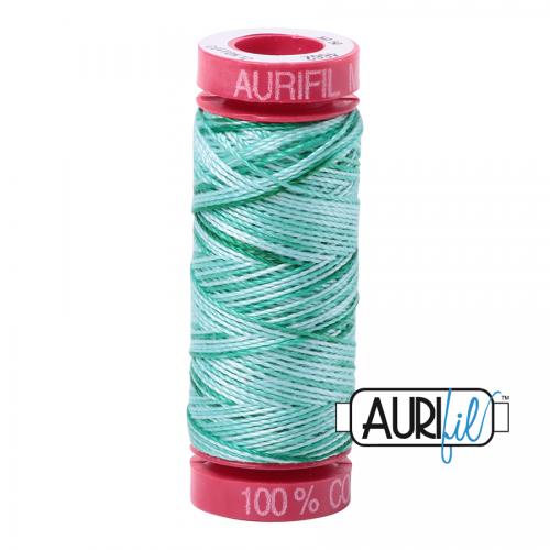 Aurifil Thread 12wt – 4662 Creme de Menthe