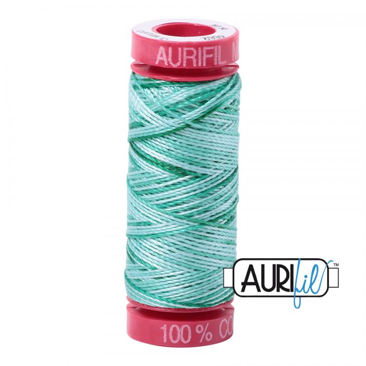 Creme de Menthe 4662 12wt Aurifil Thread
