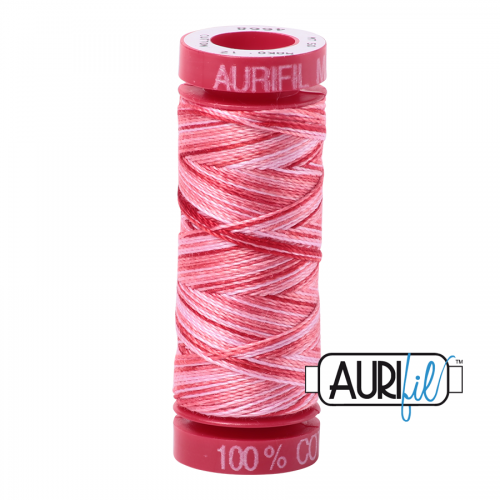 Aurifil Thread 12wt – 4668 Strawberry Parfait