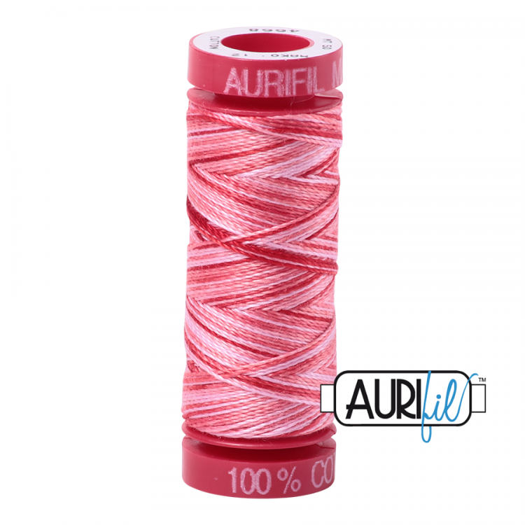 Strawberry Parfait 4668 12wt Aurifil Thread