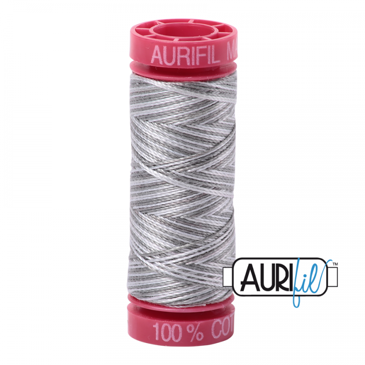 Silver Fox 4670 12wt Aurifil Thread