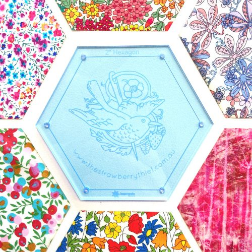 Hexagon Template – 2″