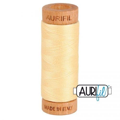 Aurifil Thread 80wt – 2105 Champagne