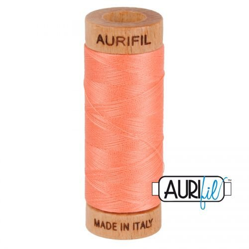 Aurifil Thread 80wt – 2220 Salmon