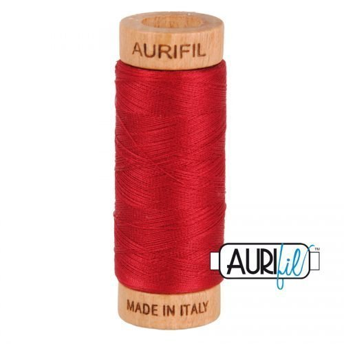 Aurifil Thread 80wt – 2260 Red Wine