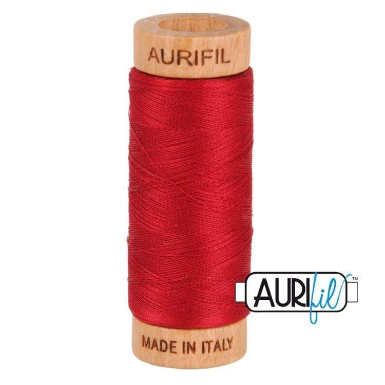 Red Wine 2260 80wt Aurifil Thread