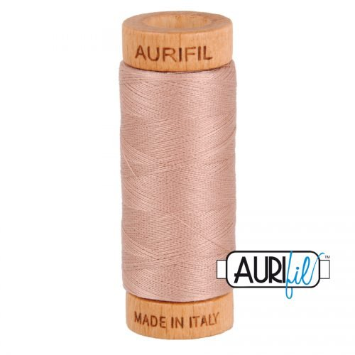 Aurifil Thread 80wt – 2375 Light Antique Blush