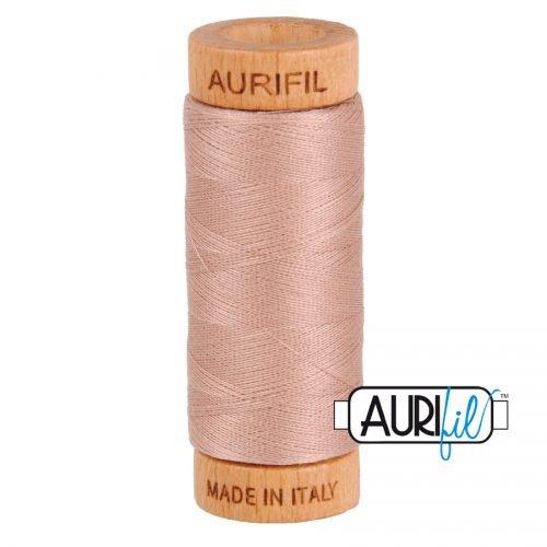 Aurifil Thread 80wt – 2375 Light Antique Blush