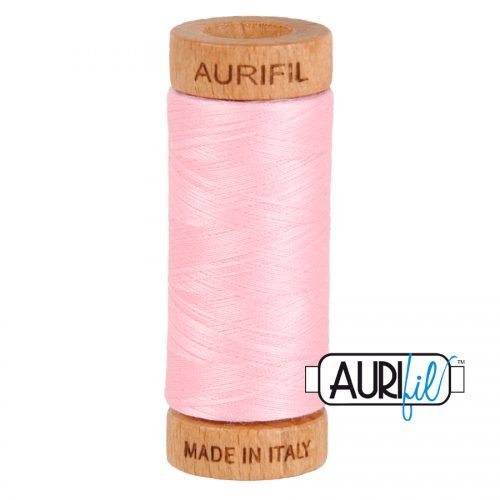 Aurifil Thread 80wt – 2423 Baby Pink