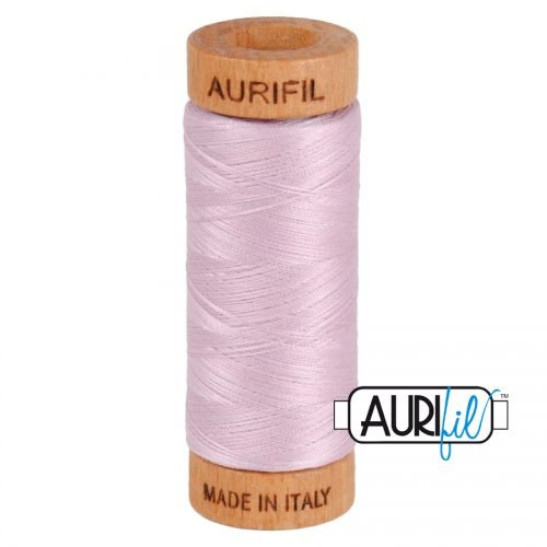 Aurifil Thread 80wt – 2510 Light Lilac