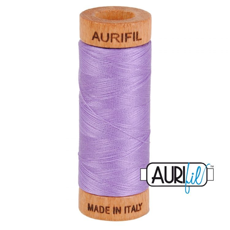 Violet 2520 80wt Aurifil Thread