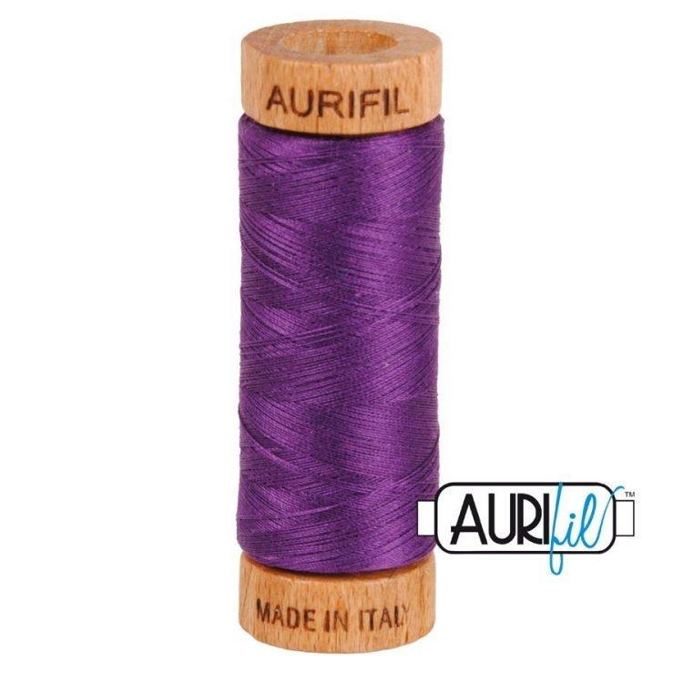 Medium Purple 2545 80wt Aurifil Thread