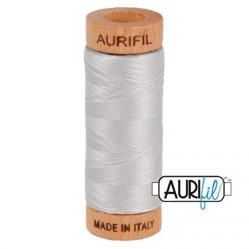 Aurifil Thread 80wt – 2615 Aluminium