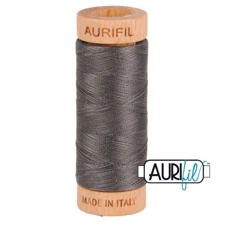 Dark Pewter 2360 80wt Aurifil Thread