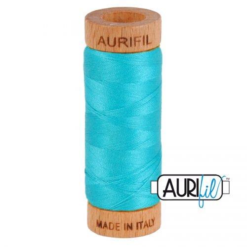 Aurifil Thread 80wt – 2810 Turquoise