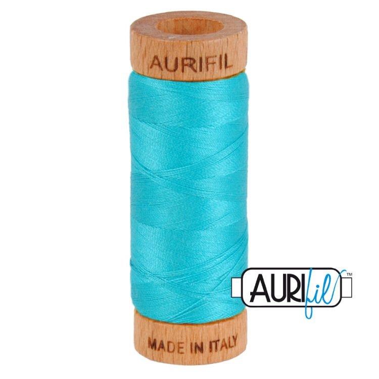 Turquoise 2810 80wt Aurifil Thread