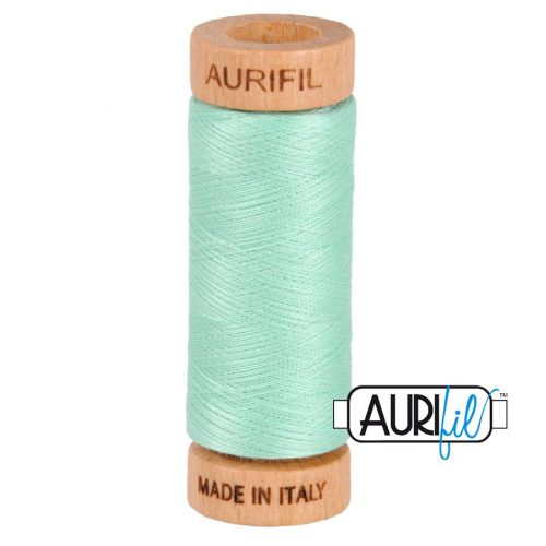 Aurifil Thread 80wt – 2835 Medium Mint