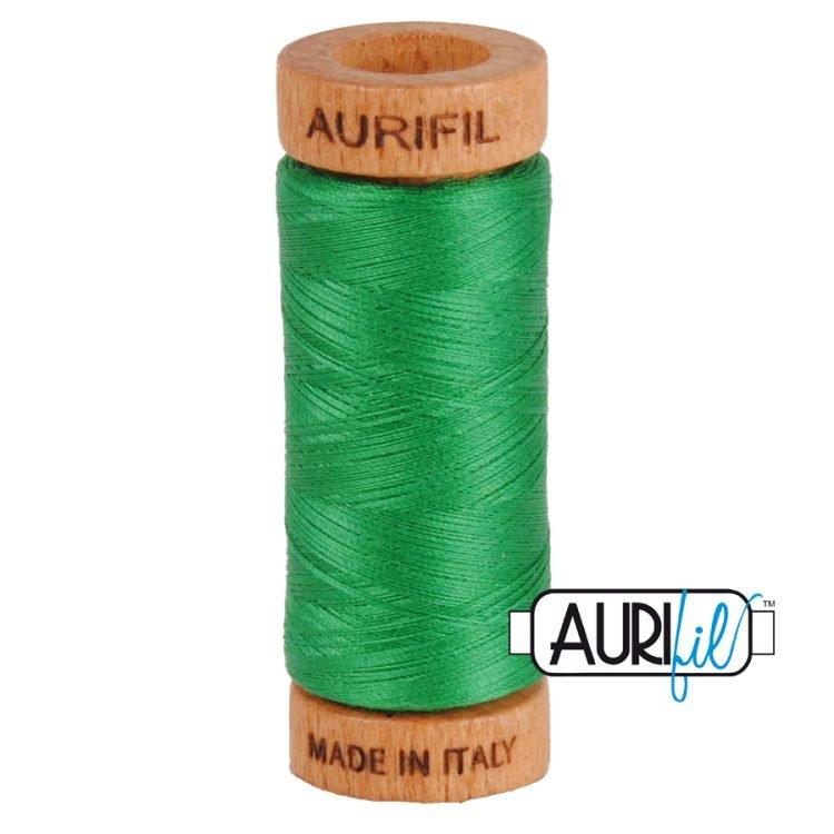 Green 2870 80wt Aurifil Thread