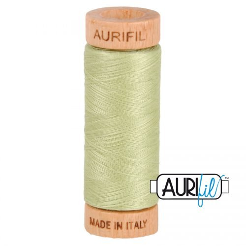 Aurifil Thread 80wt – 2886 Light Avocado