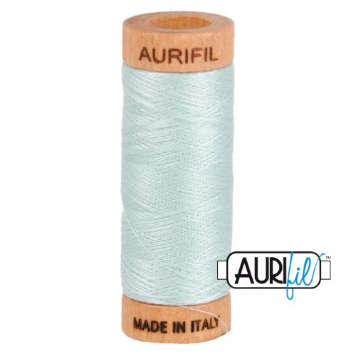 Aurifil Thread 80wt – 5007 Light Grey Blue