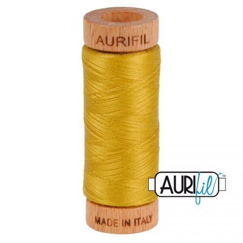 Aurifil Thread 80wt – 5022 Mustard