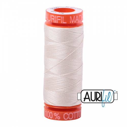 Aurifil Thread 50wt – 2000 Light Sand