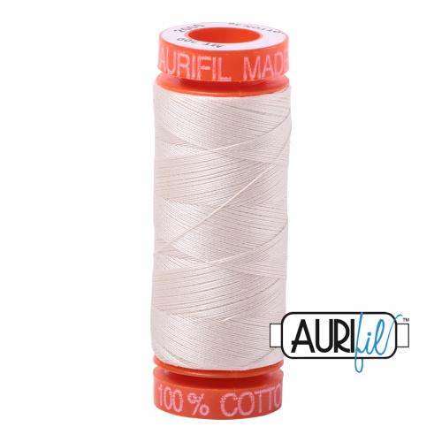 Aurifil Thread 50wt – 2000 Light Sand