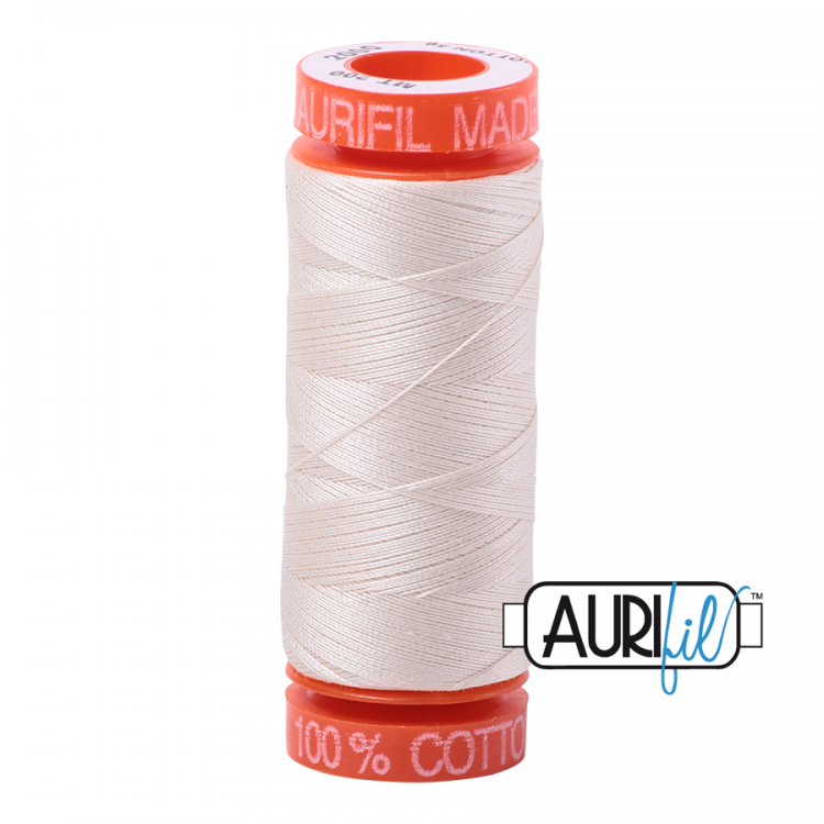 Light Sand 2000 50wt Aurifil Thread