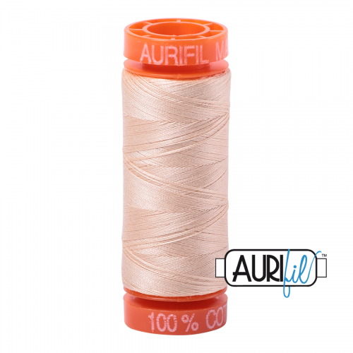 Aurifil Thread 50wt – 2315 Shell (Available in 2 sizes)