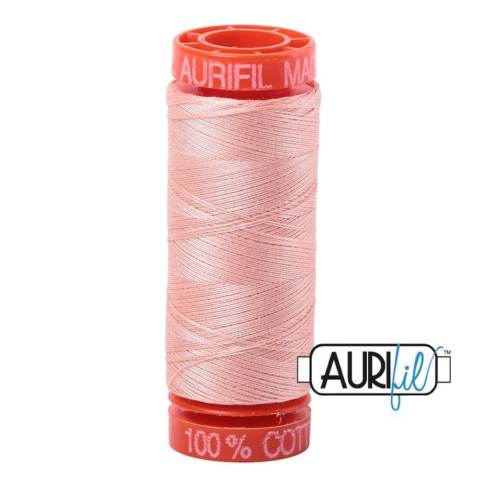 Blush 2420 50wt Aurifil Thread
