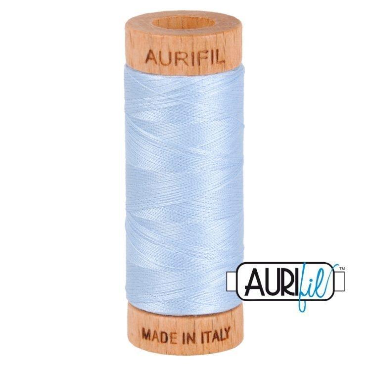 Light Robins Egg 2710 80wt Aurifil Thread