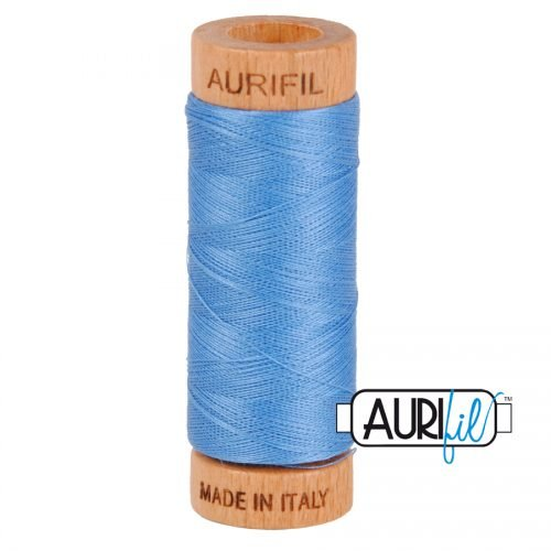 Aurifil Thread 80wt – 2725 Light Wedgewood