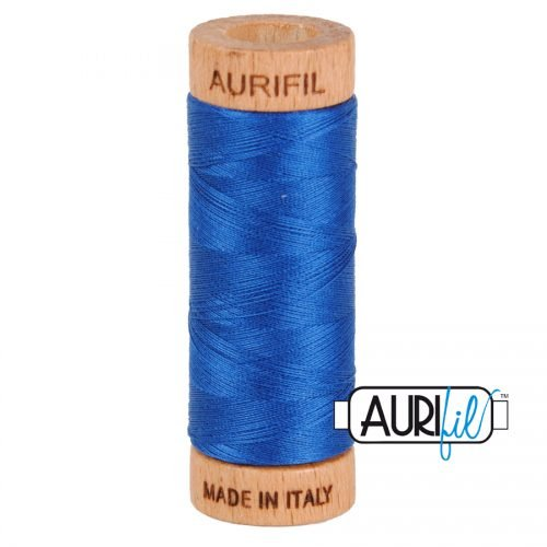 Aurifil Thread 80wt – 2740 Dark Cobalt
