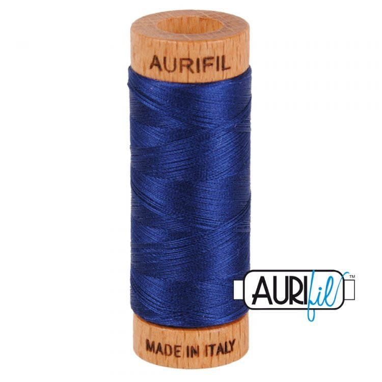 Dark Navy 2784 80wt Aurifil Thread
