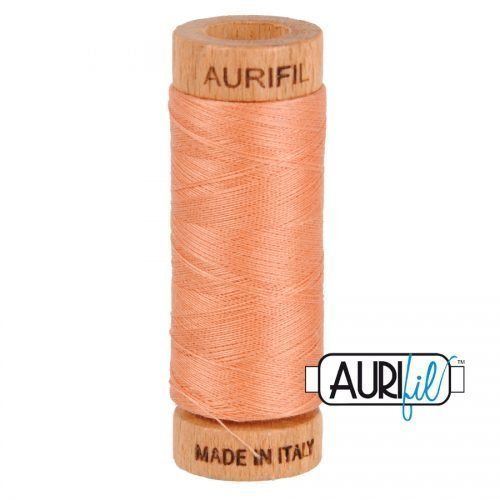 Aurifil Thread 80wt – 2215 Peach