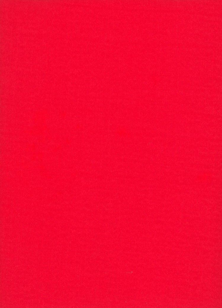 Pillar Box Red Linen - The Strawberry Thief