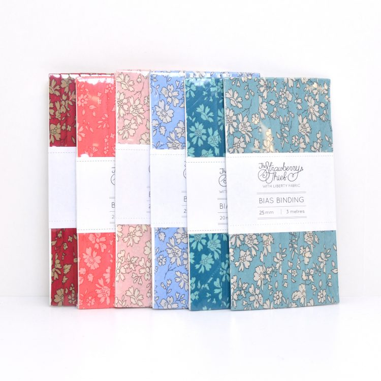 Bias Binding Capel Designs - LibertyTana Lawn - Liberty of London