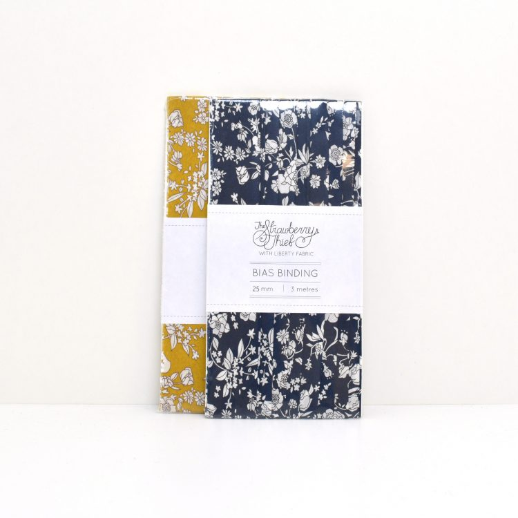 Bias Binding Summer Blooms - Liberty Tana Lawn - Liberty of London