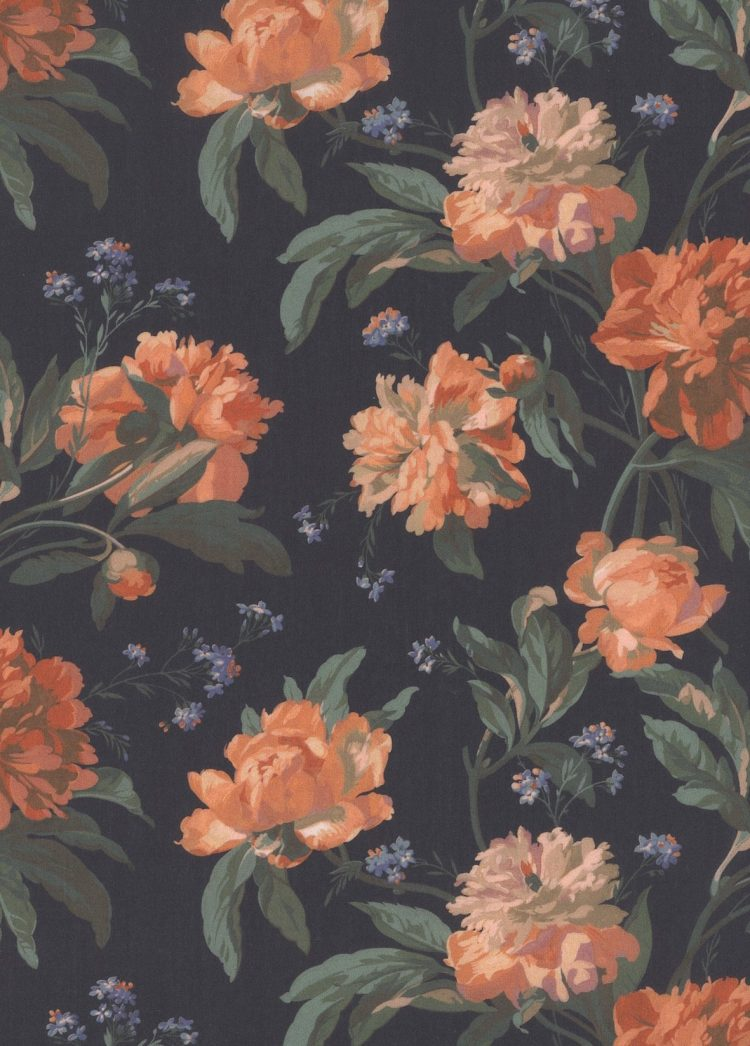 Decadent Blooms 19A - Liberty Tana Lawn Classic Collection - Liberty of London