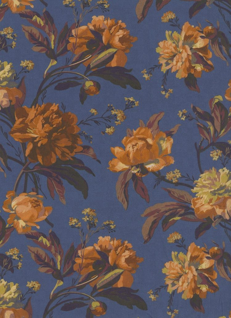 Decadent Blooms 19B - Liberty Tana Lawn Classic Collection - Liberty of London