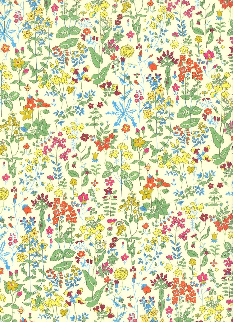 Field Flowers E - Liberty Tana Lawn Classic Collection - Liberty of London
